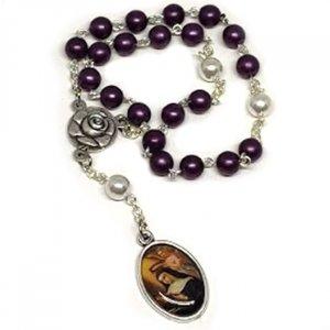 Perlový ruženec Sv. Rita z Cascie