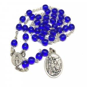 Ruženec Sv. Archanjela Michala modrý
