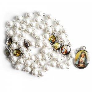 Ruženec biely k Sedembolestnej Panne Márii