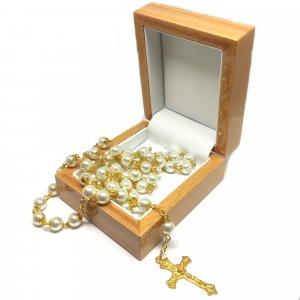 Luxusná drevená krabička na odkladanie ruženca