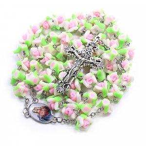 Ruženec foranžový perlový
